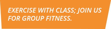 Group Exercise Classes Banner